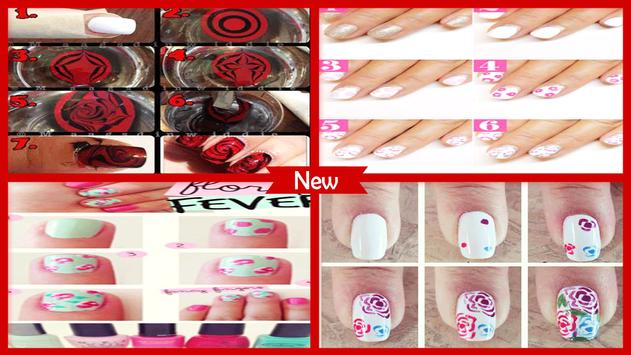 Amazing Calligraphy Rose Nail Art Tutorial For Android Apk Download