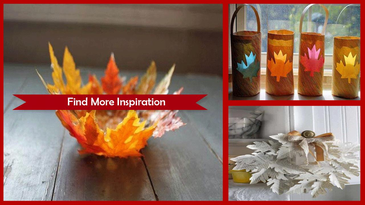 Amazing Leaf Crafts For Adults poster