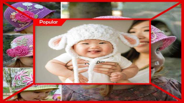 Best Crochet Baby Hat Free Pattern screenshot 3
