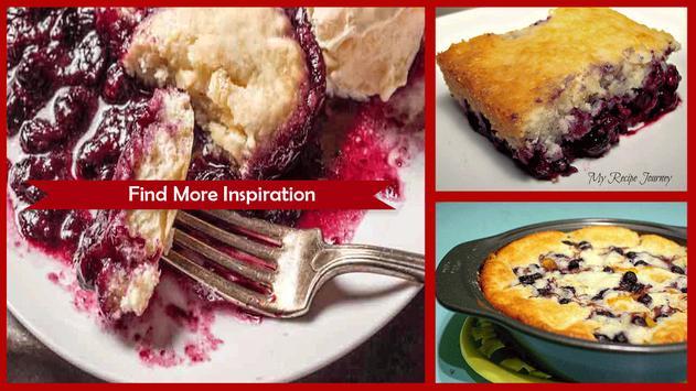 Blueberry Crepe Recipes screenshot 1