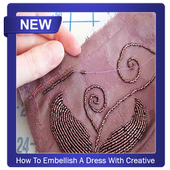 How To Embellish A Dress With Creative Beads icon