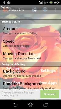 Beautiful Roses Live Wallpaper screenshot 3