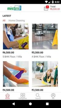 Mistrri.com - Home Cleaning Services poster