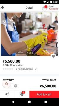 Mistrri.com - Home Cleaning Services screenshot 2