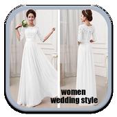 Women Wedding Dress Styles icon