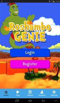 Roshambo Genie screenshot 1