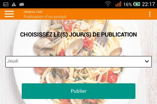 HDelices Chef screenshot 4