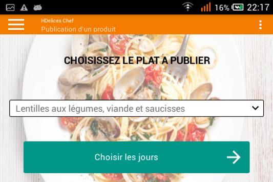 HDelices Chef screenshot 5
