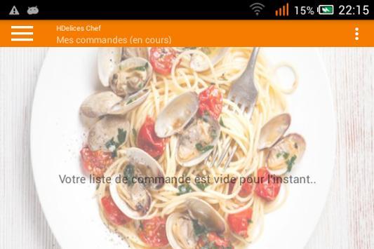HDelices Chef screenshot 2