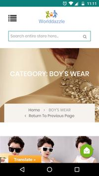 World Dazzle Buy & Sale Online Shopping App screenshot 1