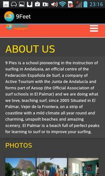 9 Feet Surf School and Camp apk screenshot