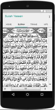 Surah Yaseen With MP3 screenshot 1