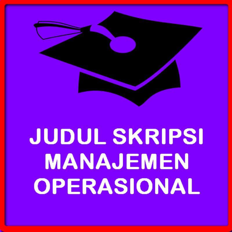 Manajemen operasi | buku/ebook manajemen murah.