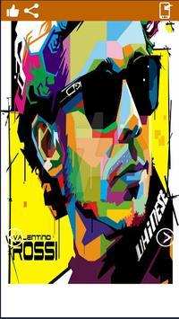 Valentino Rossi ArtHd Wallpapers screenshot 1