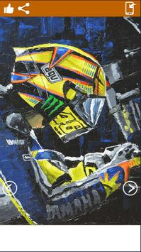 Valentino Rossi ArtHd Wallpapers screenshot 2