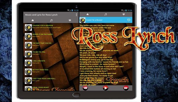 Music & Lyric for Ross Lynch poster