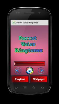 Parrot Voice Ringtones poster
