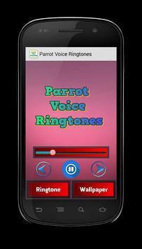 Parrot Voice Ringtones screenshot 1