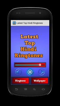 Latest Top Hindi Ringtones apk screenshot