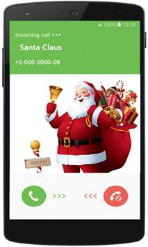 Chat With Santa Claus Game poster