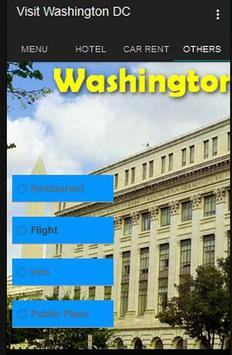 Visit Washington DC apk screenshot
