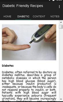 Diabetes Friendly Recipes apk screenshot