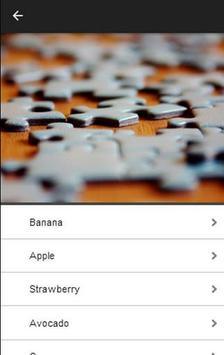 Fruits Puzzle screenshot 1