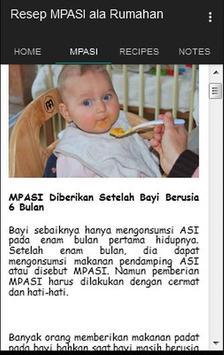 Kumpulan Resep Bayi SEHAT apk screenshot