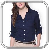 Women Formal Shirt Photo Editor icon