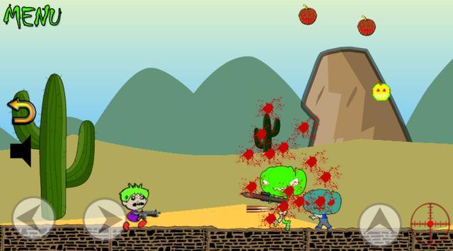 Zombie Run and Shoot screenshot 1