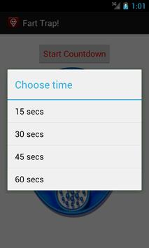 Fart Countdown! apk screenshot
