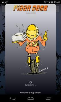 Pizza Memo Coupon poster