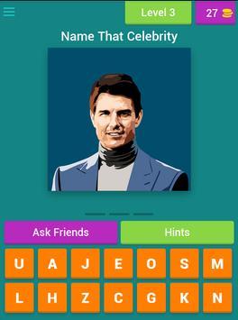 Guess The Celebrity HD apk screenshot