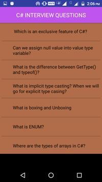 C# Interview Questions screenshot 2