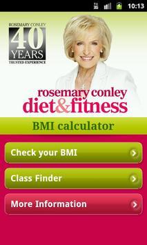 Rosemary Conley's BMI App screenshot 1
