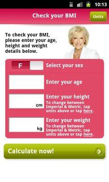 Rosemary Conley's BMI App screenshot 2