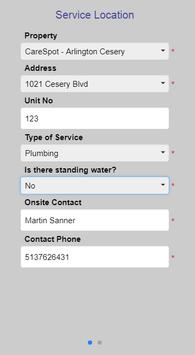 Roto-Rooter's Service Request App screenshot 2