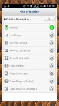 Screen Rotation Control screenshot 16