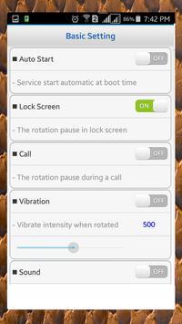Screen Rotation Control screenshot 2