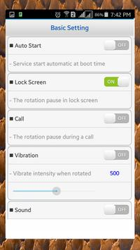 Screen Rotation Control screenshot 7