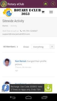 Rotary eClub apk screenshot