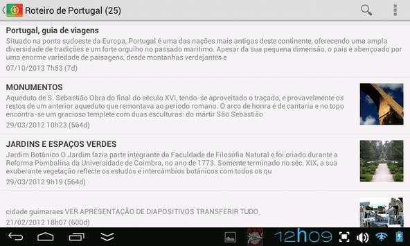 Roteiro de Portugal screenshot 1