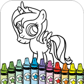 Little Pony Coloring icon