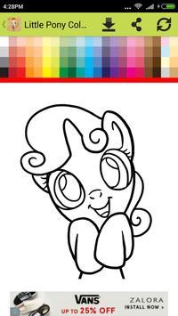 Little Pony Coloring apk screenshot