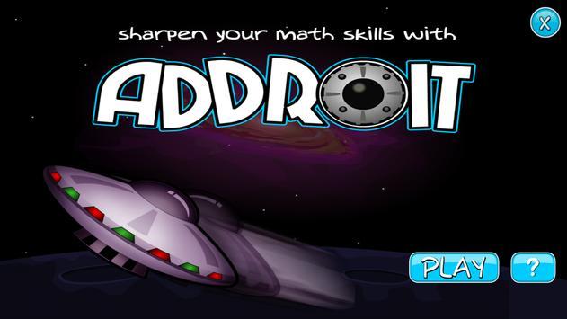 Addroit - Speed Math Workout poster