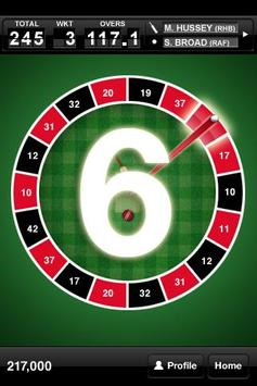 Roulette Cricket apk screenshot
