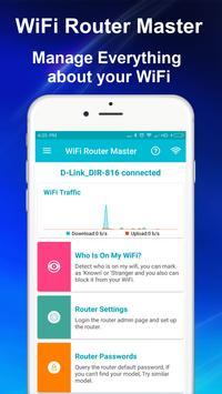 WiFi Master - Detectar quem está usando o meu WiFi Cartaz