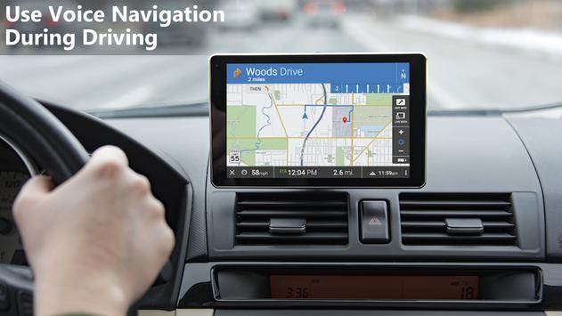 Voice GPS Navigation 2018 screenshot 1