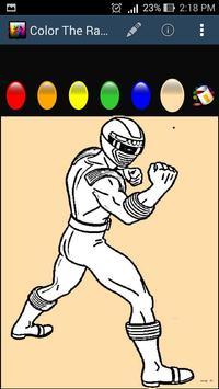 Color The Rangers screenshot 1