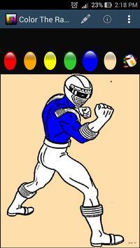 Color The Rangers screenshot 2